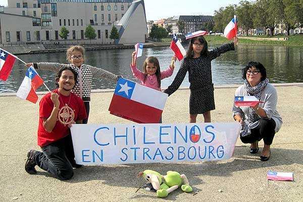 Chilenos en el exterior