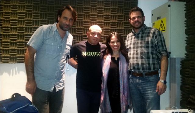 Jorge Rizik, Omar Requena Medina, Martha Lucía Rocha y Álvaro Álvarez