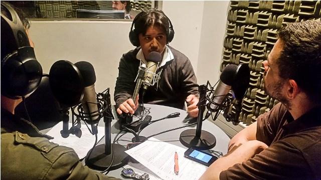 Wilson Charry, Emilio Ugarte y Álvaro Álvarez