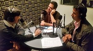 Emilio Ugarte, Álvaro Álvarez y Wilson Charry