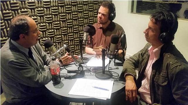 Rodolfo Noriega, Álvaro Álvarez y Wilson Charry