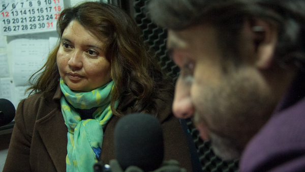 Angélica Romero y Jorge Rizik