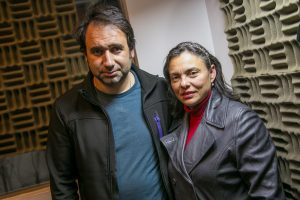 Jorge Rizik y Mónica Lara