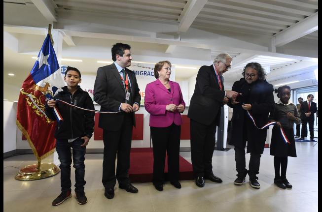 Departamento de extranjer a inaugura nueva sucursal en for Oficina de extranjeria aluche