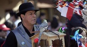 10 de Septiembre 2011  Manuel Lizana Organillero de San Bernardo  Foto: /Natalia Espina/ La Tercera/ Santiago