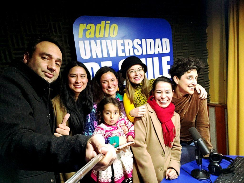 Haciendo radio celebramos los cuatro a os al aire de chile for Diana polloni