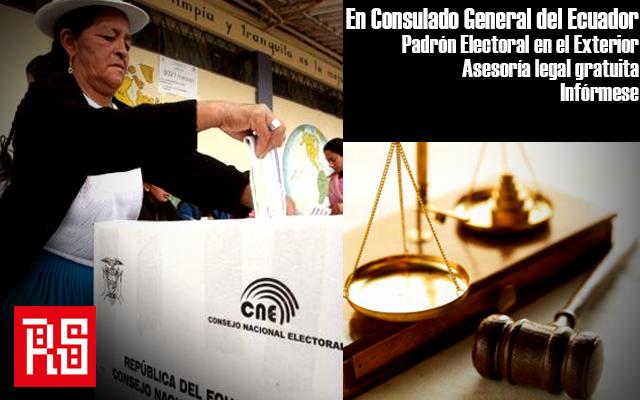 Llamado de Atención Pública a la comunidad ecuatoriana