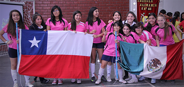Alegre final de Mundialito Interescolar de Futsal