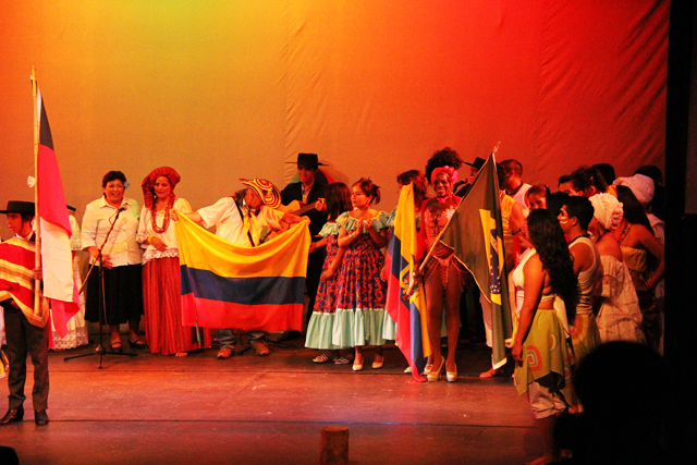 Espectacular encuentro de música y baile organizado por FOLIL