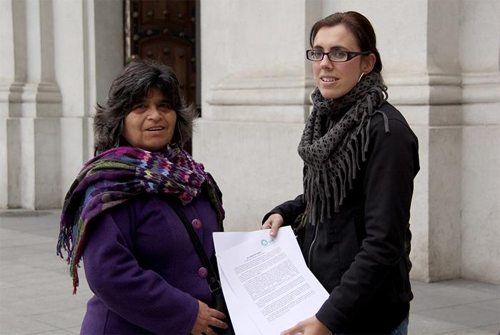 La RedMI entrega una Declaración Pública sobre migración en La Moneda
