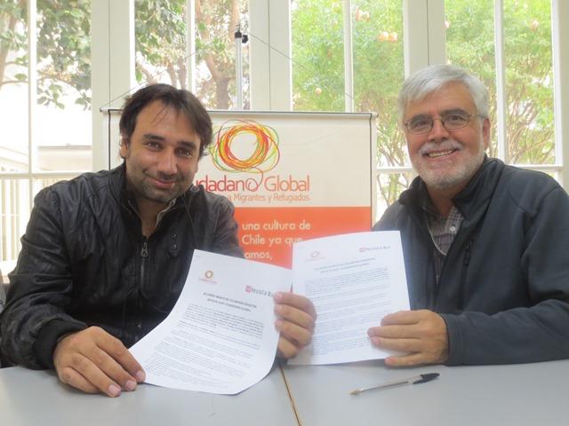 Revista Sur y Ciudadano Global firman acuerdo marco de colaboración