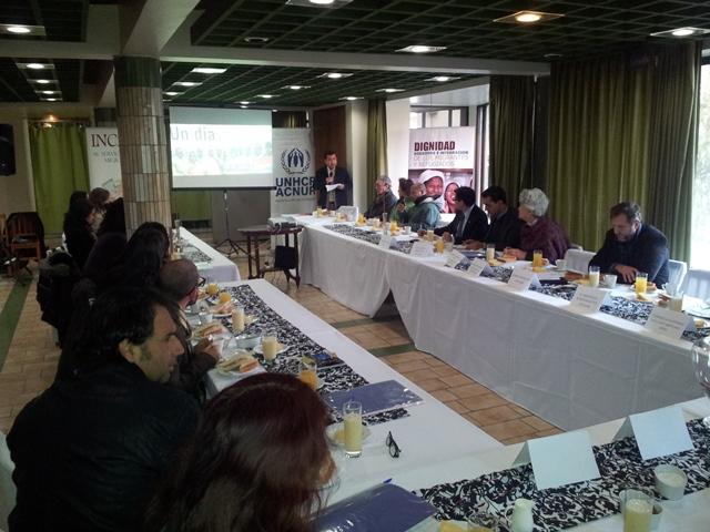 INCAMI realiza desayuno en torno al Día Mundial de los Refugiados 2013
