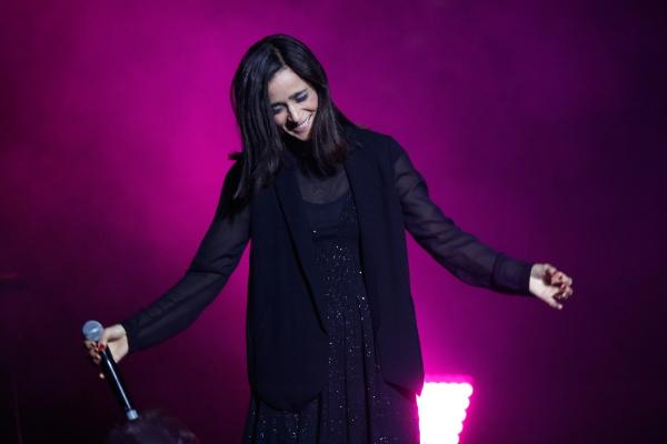 Julieta Venegas deleitó al Teatro Caupolicán