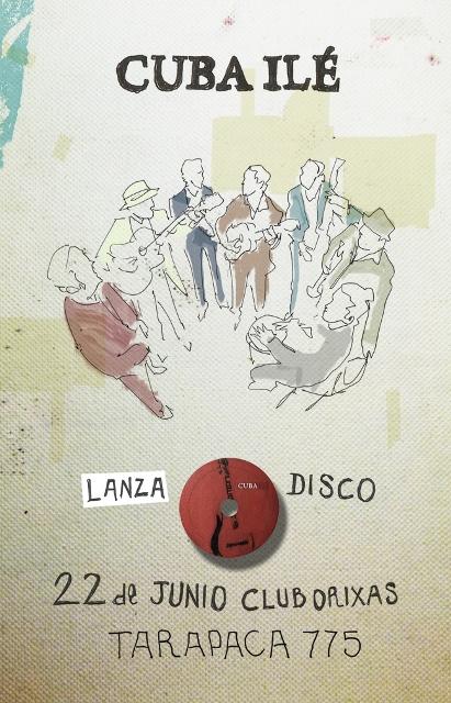 """Cuba Ilé"" lanza su primer disco en club Orixas"
