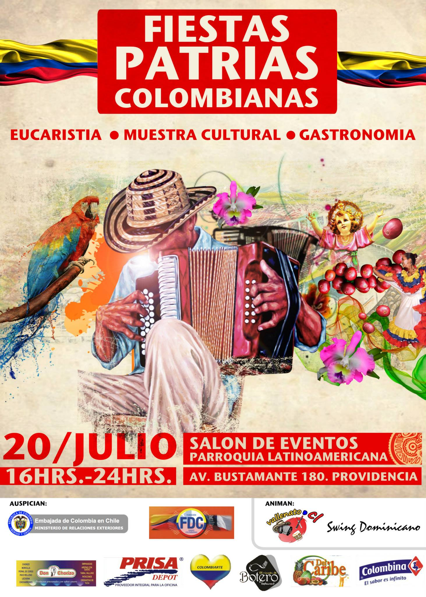 Celebración Independencia de Colombia