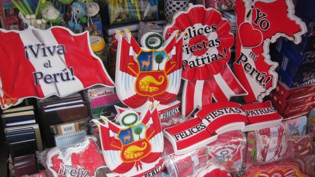 Celebración de las Fiestas Patrias del Perú