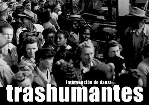 Intervención de danza: Transhumantes