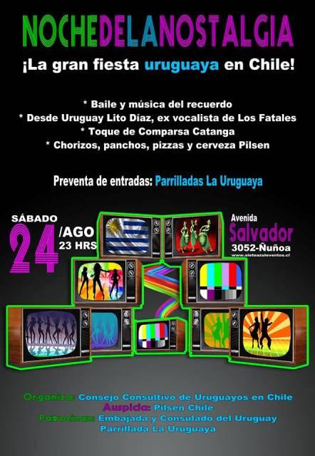 Noche de la Nostalgia Uruguaya en Chile