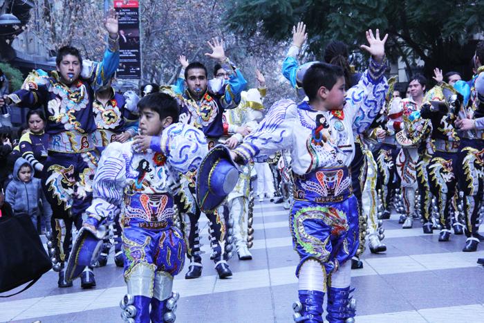 Desfile de la Integración