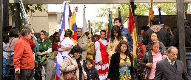 Celebración del día Nacional del Migrante