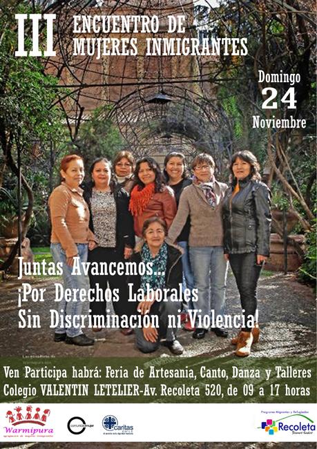 III Encuentro de Mujeres Inmigrantes