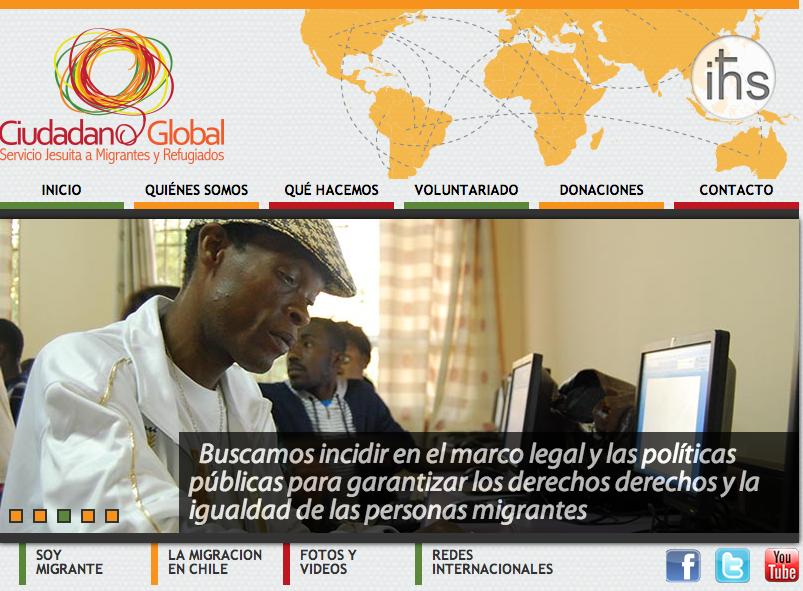 Ciudadano Global renueva su Portal Web