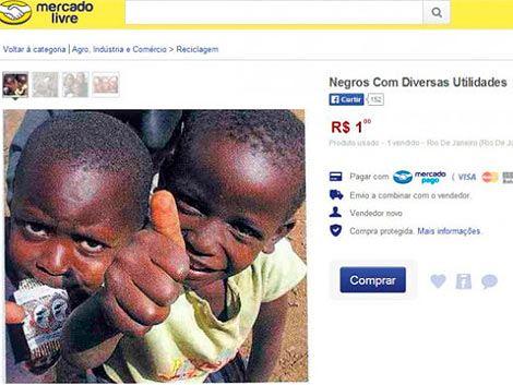 Detenido menor por publicar aviso de «venta de negros»