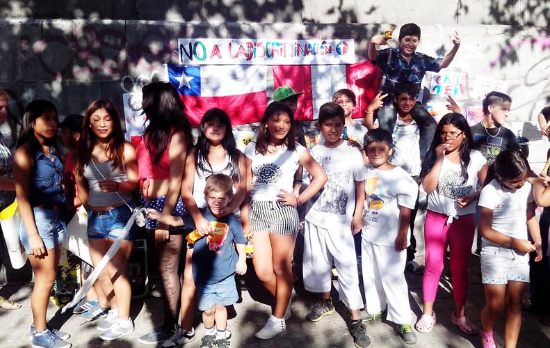 Niñas y niños por la paz