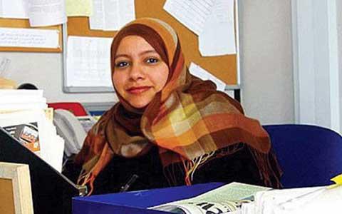 La primera mujer jefa de redacción de un periódico saudí