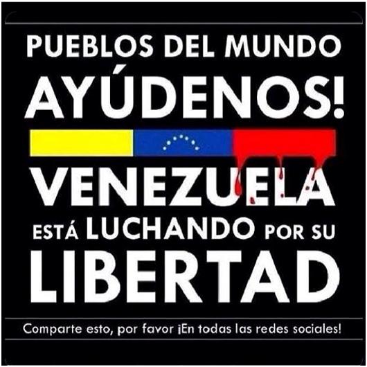 Velatón Luto por Venezuela
