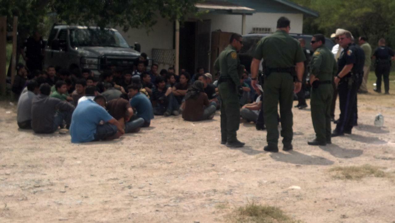 Rescatan a 100 inmigrantes en una casa de Estados Unidos