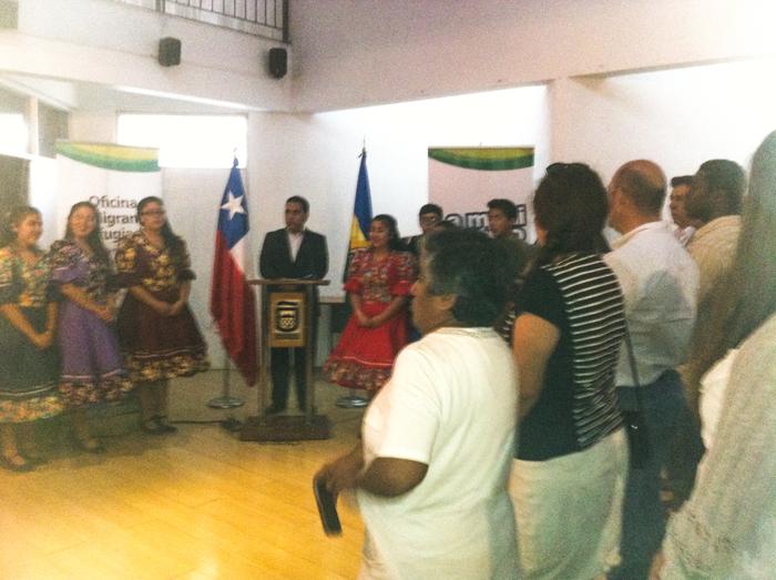 Inauguración Curso Español y Cultura Chilena