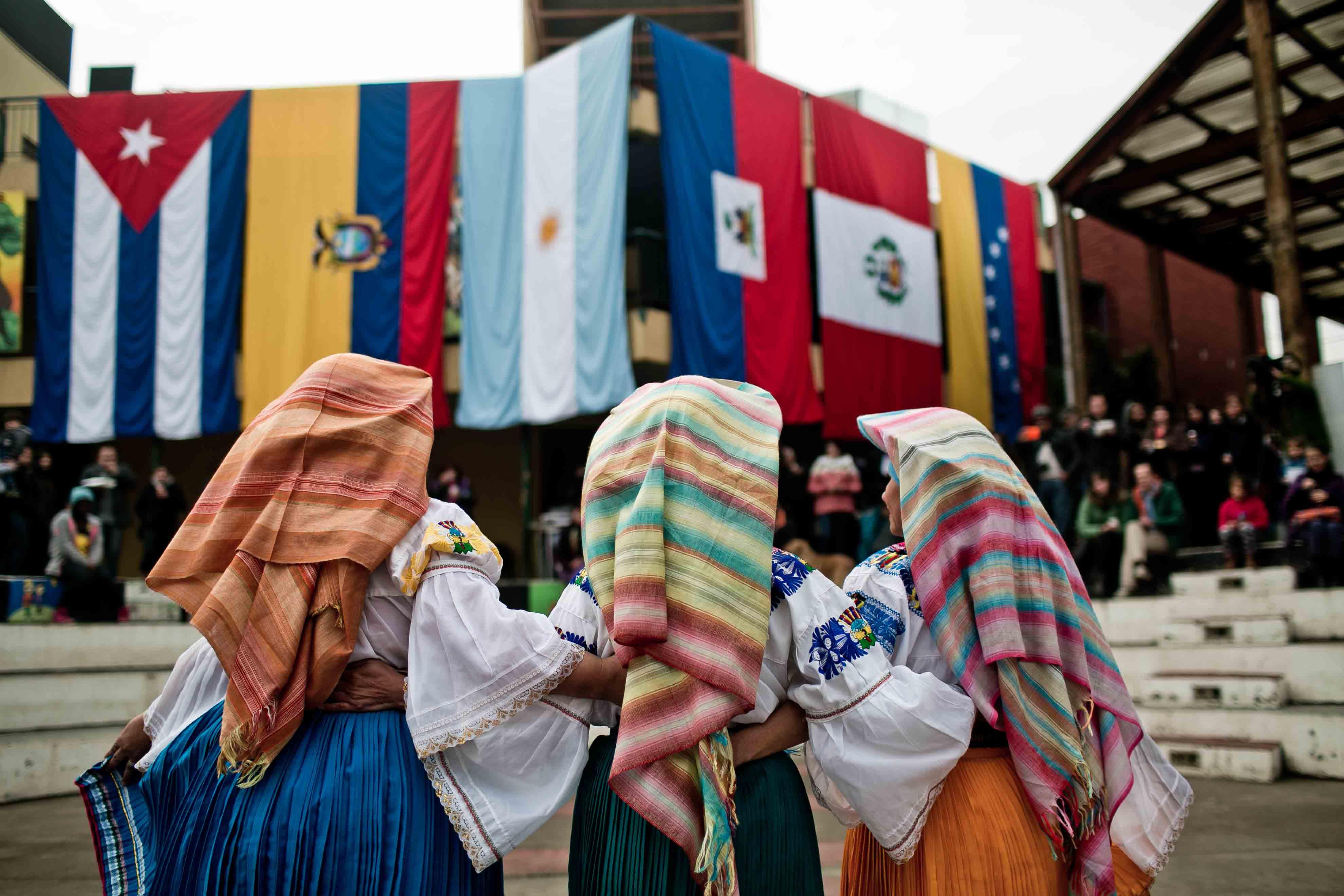 EL PASADO DOMINGO 22 DE JUNIO SE CELEBRÓ EL DÍA DEL REFUGIADO EN EL CENTRO CULTURAL DE LA COMUNA DE QUILICURA.