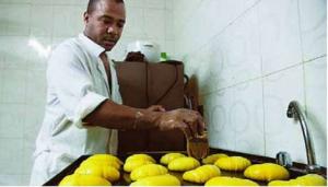 El pan colombiano es otra opción en las mesas de Antofagasta