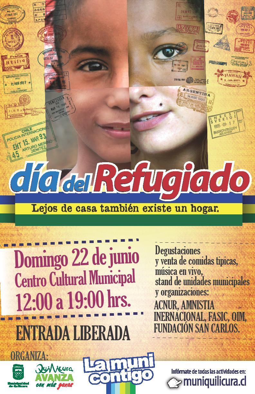 Día del Refugiad@ y Lanzamiento de Políticas Locales en Migración y Refugio en Quilicura