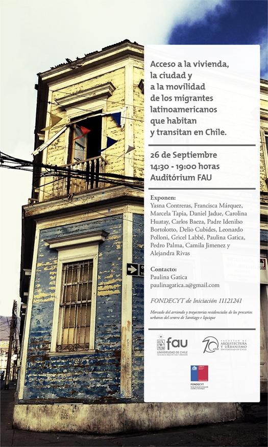 Destacados expositores participarán en seminario sobre migrantes y ciudad en la FAU