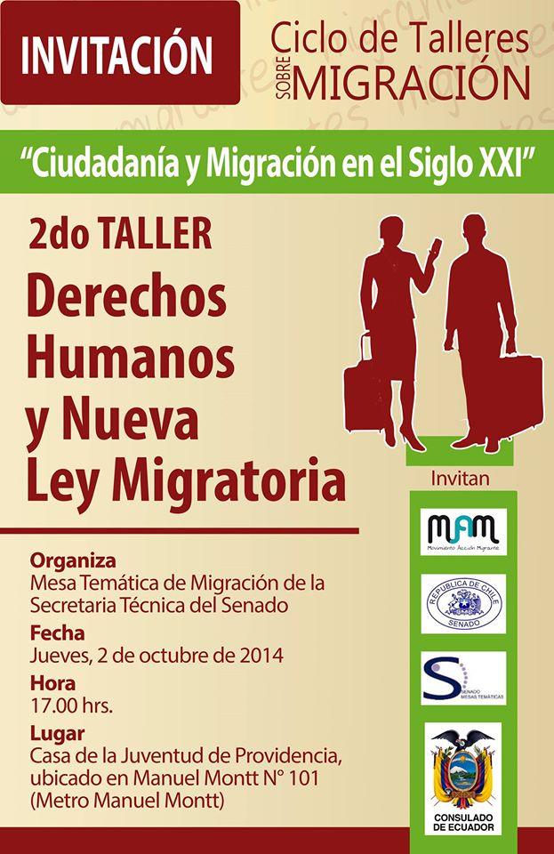 II Taller sobre Derechos Humanos y Nueva Ley Migratoria