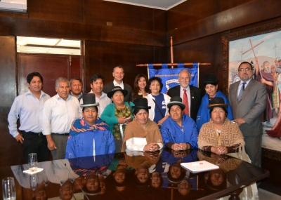 Diputadas bolivianas llegan a Arica a promover el voto en el extranjero