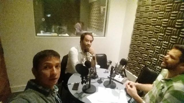 Wilson Charry, Leonardo Polloni y Álvaro Álvarez