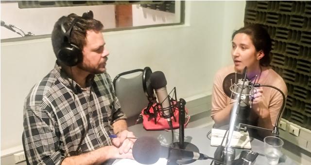 Álvaro Álvarez y Florencia Saffirio