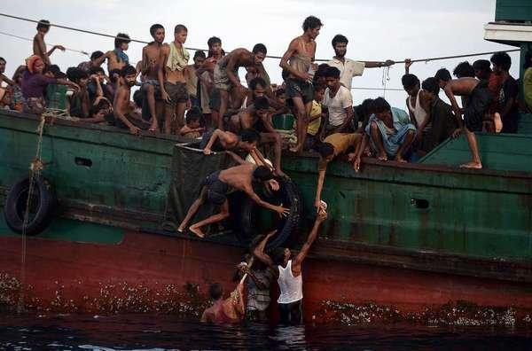 Continúa oleada de inmigrantes en las costas de Indonesia