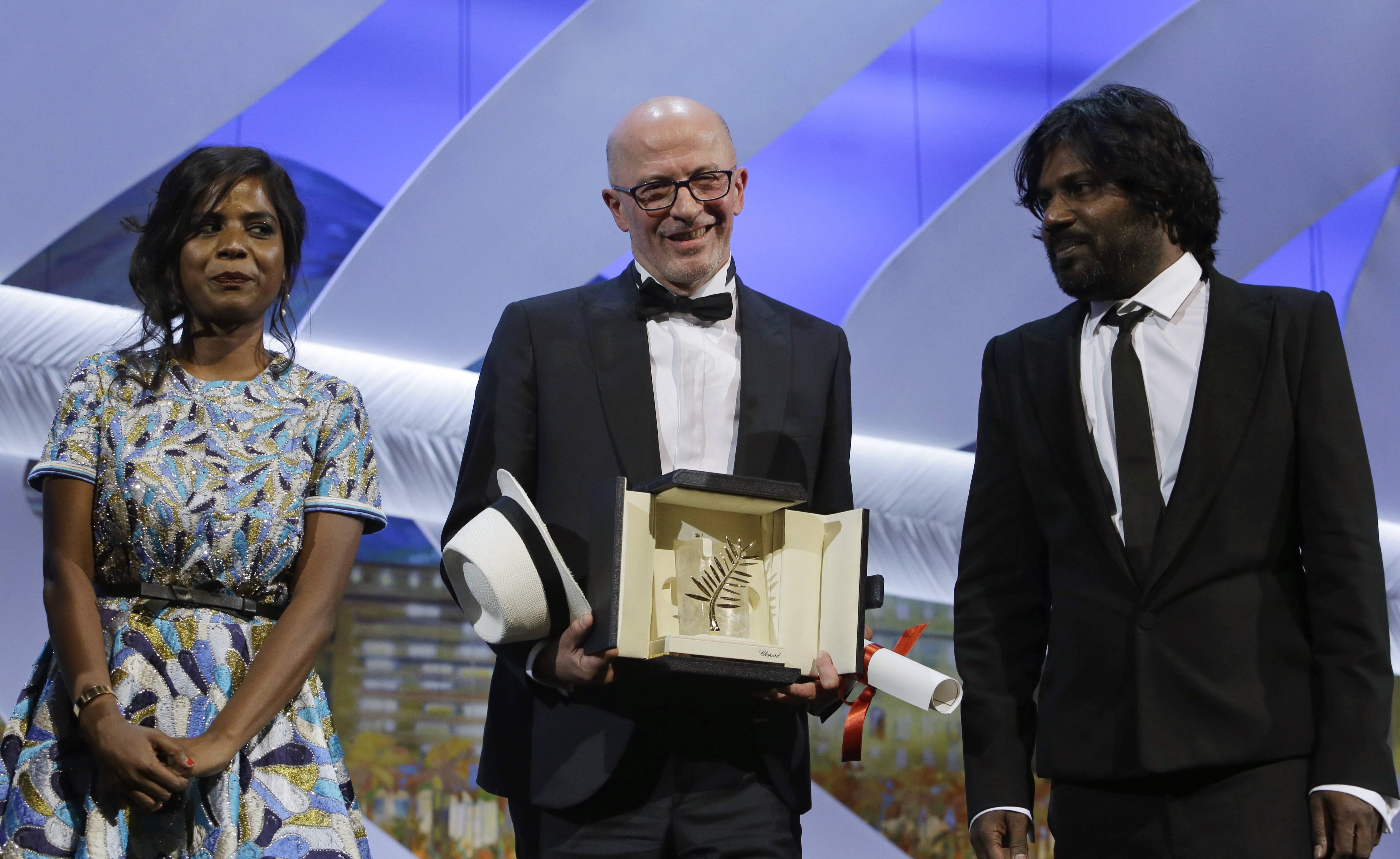 Una película sobre la migración ilegal gana la Palma de Oro en Cannes