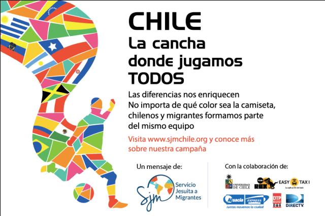 «Chile, la cancha donde jugamos todos»