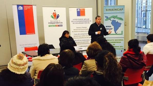 Más de 80 representantes de trabajadoras de casa particular inmigrantes participaron en jornada de capacitación