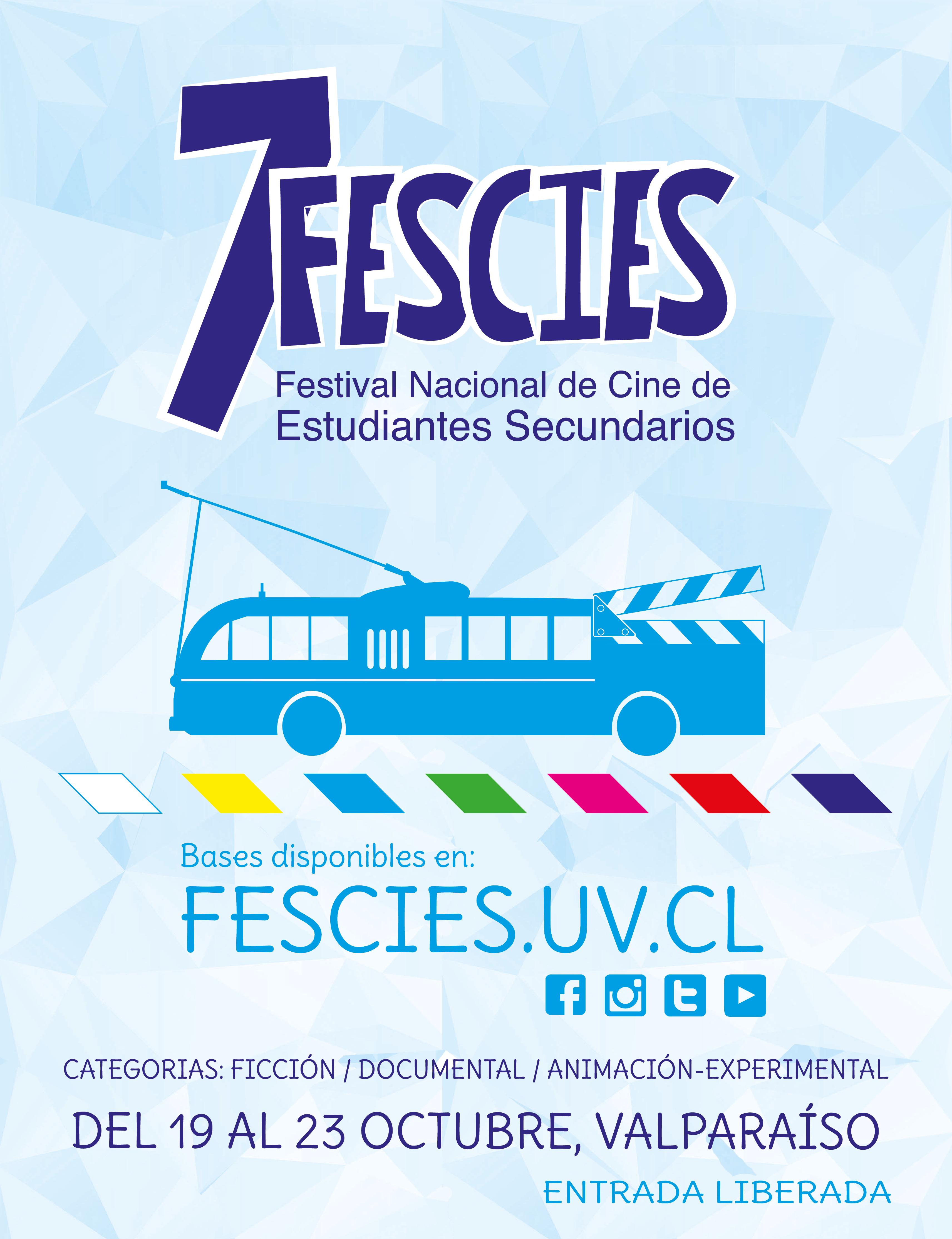 FESCIES invita a estudiantes  secundarios de Chile a participar en su 7ma versión