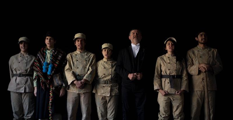 «Mutilados», montaje que repasa los distintos hitos de la Guerra del Pacífico