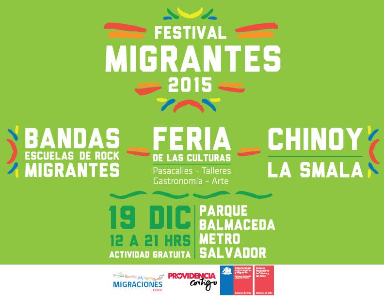 Festival Migrantes 2015