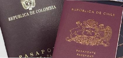 El porqué si nací en Colombia ahora soy chileno