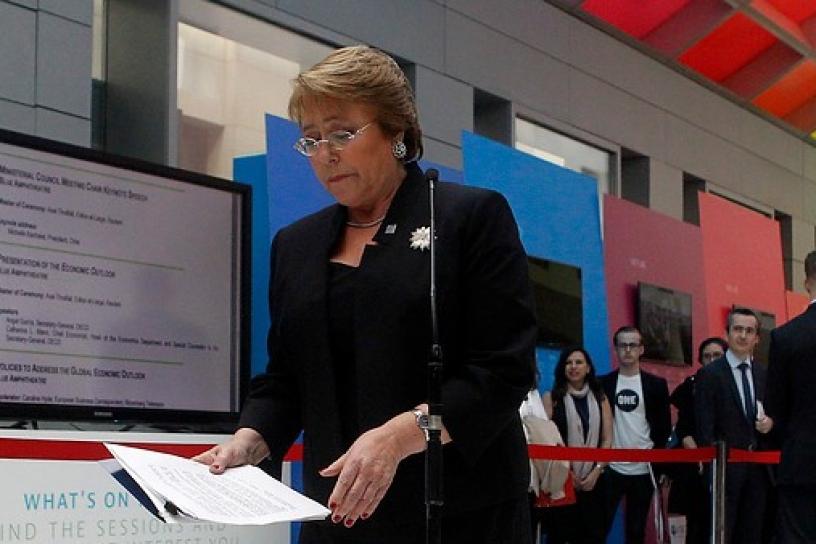 Las acciones de la presidenta y la concentración de los medios en Chile