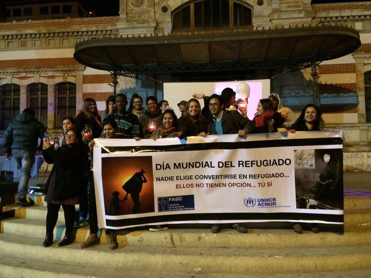 CONMEMORACION DEL DIA  MUNIDAL DEL REFUGIADO EN LA XV REGION DE ARICA Y PARINACOTA